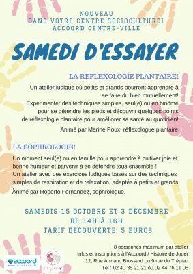 Atelier réflexologie plantaire Nantes centre